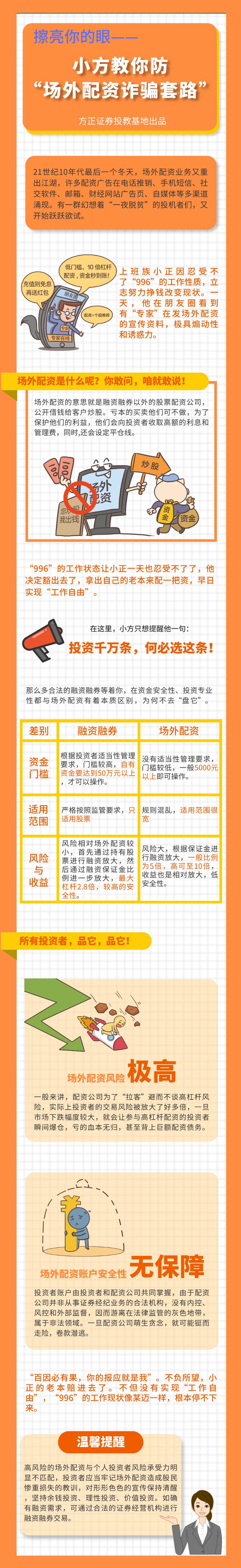 """擦亮你的眼——小方教你防""""场外配资诈骗套路"""".jpg"""